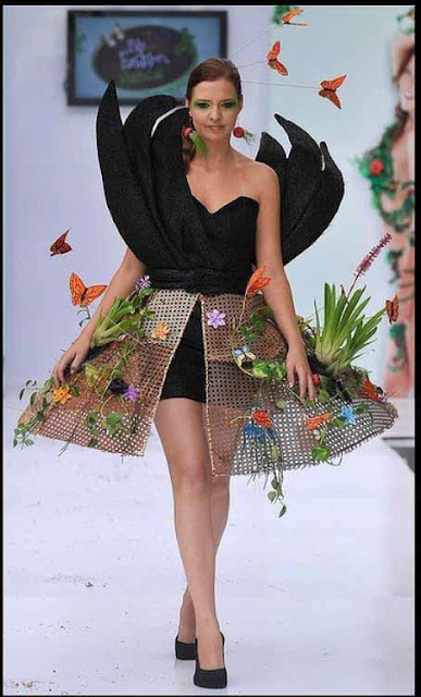Платье из природного материала своими руками фото